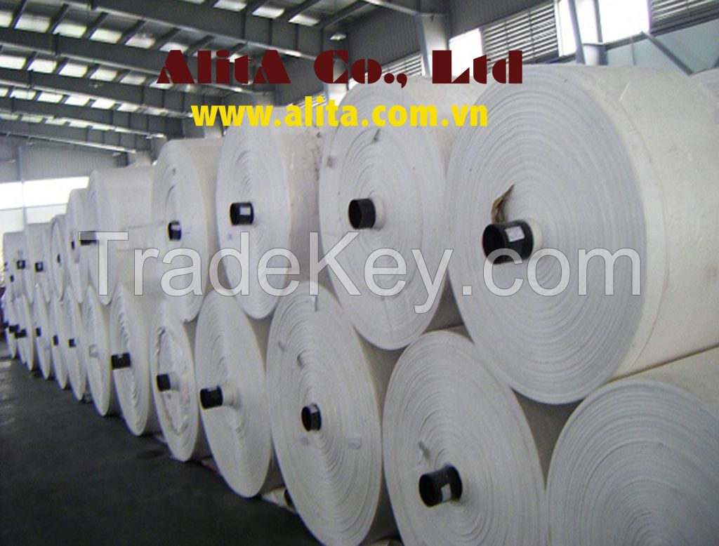PP WOVEN FABRIC ROLL/ TUBE