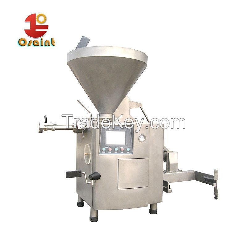 China new sausage filler machine for different sizes of sausages