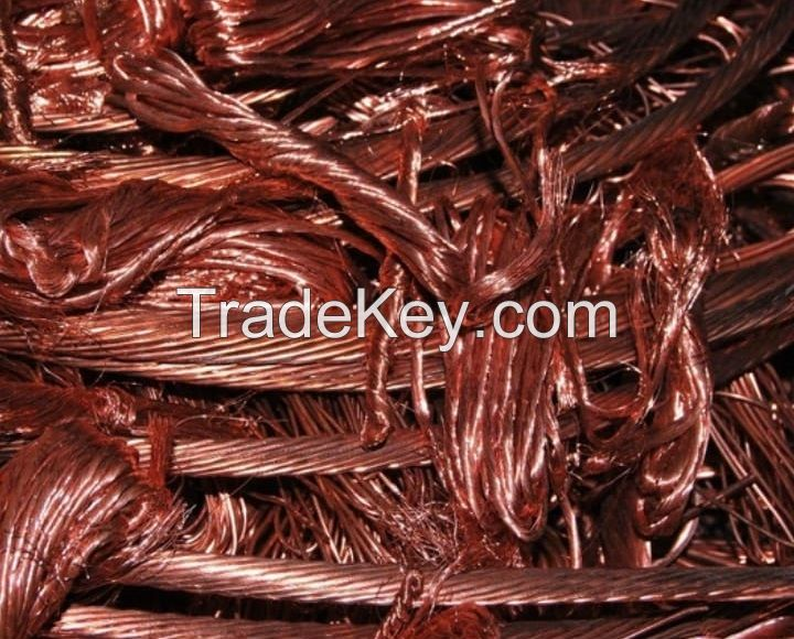 COPPER WIRE SCRAP MILLBERRY 99.99%