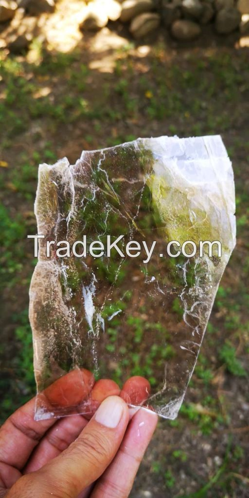 Muscovite Mica Flakes -Sheets