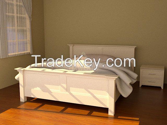 Dabeueh Puteh Bedroom Furniture Set - Dawood Indonesia Furniture