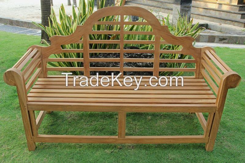 Marlborough Teak Garden Bench