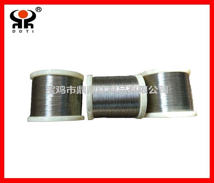 Titanium wire, nitinol wire, Gr5 alloy wire