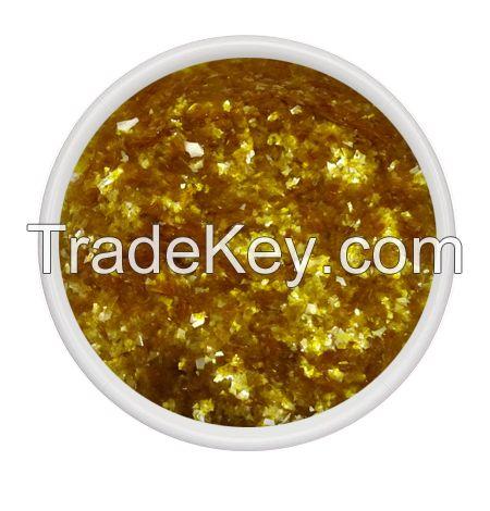 edible glitter yellow