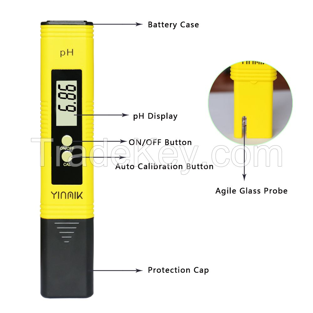 Digital Portable pH Meter for Hydroponic