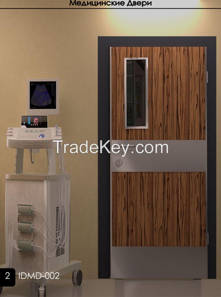 hospital doors wooden doors MDF doors PVC doors