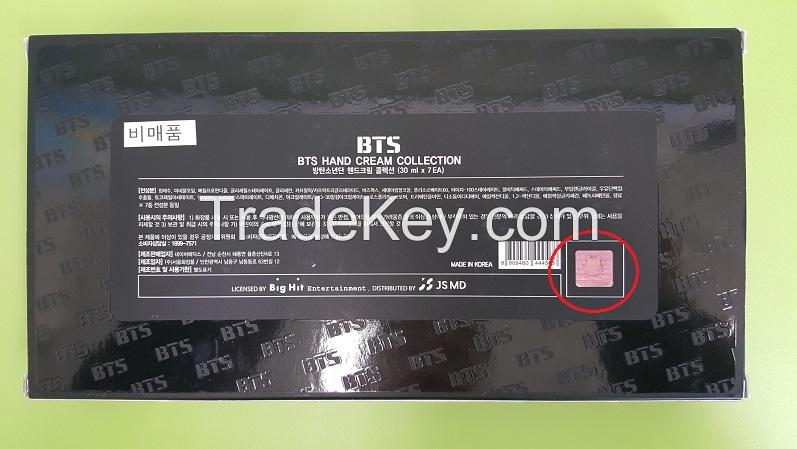 BTS Hand Cream Collection Shea Butter Hand Cream (30ml x 7EA)