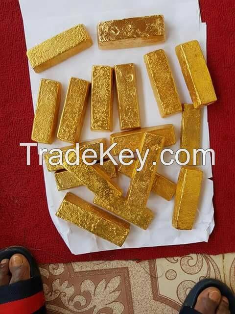 au gold dust/bars