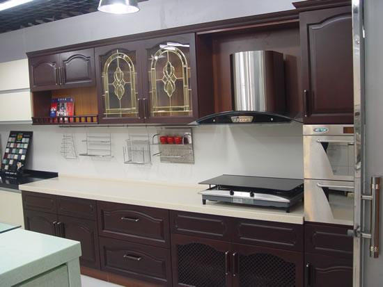 Kitchen Cabinet(PVC coating series)