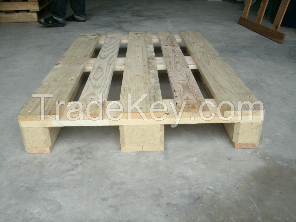 Euro wood pallet secondhand