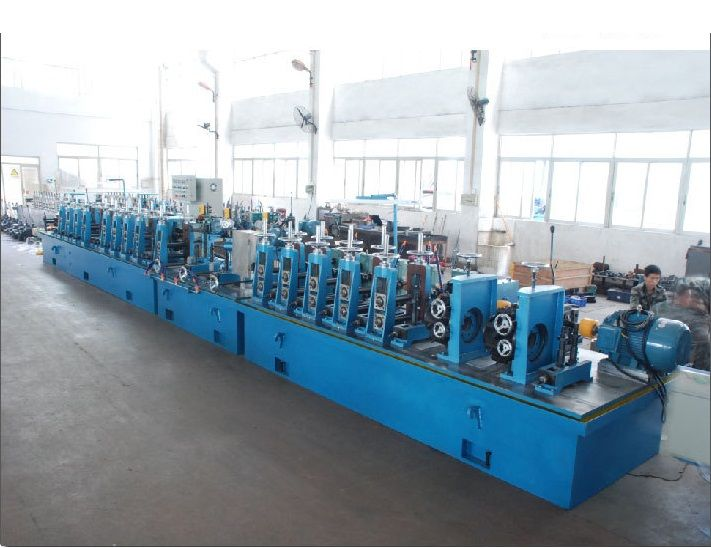 Customized automatic decorative stainless steel pipe tube production line