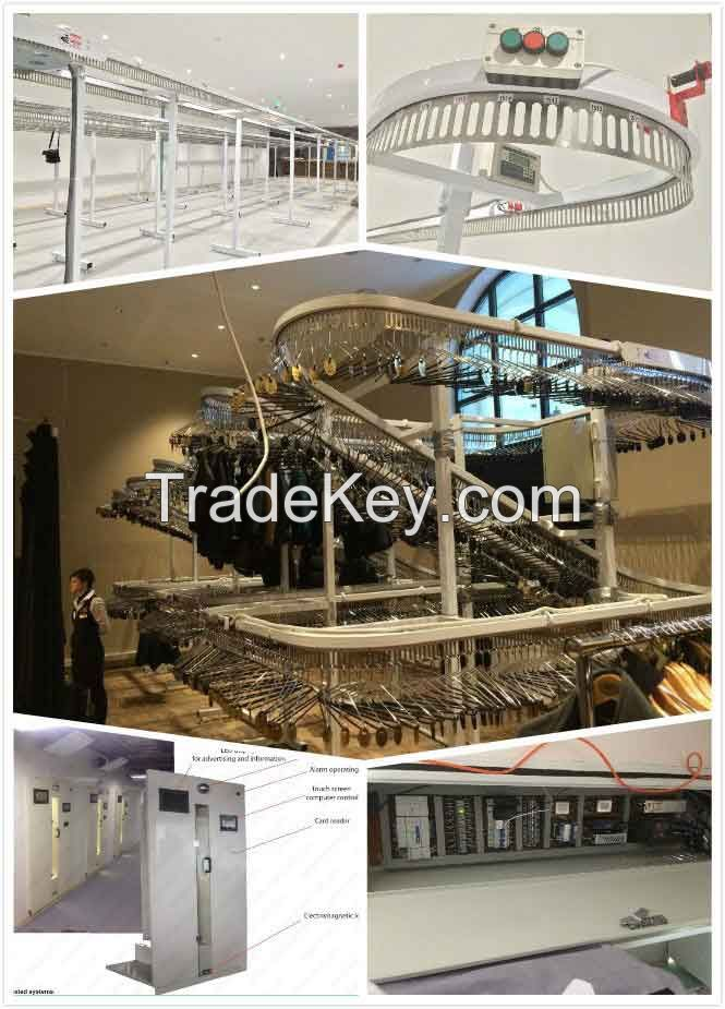 Automated Uniform Conveyor system for hotel