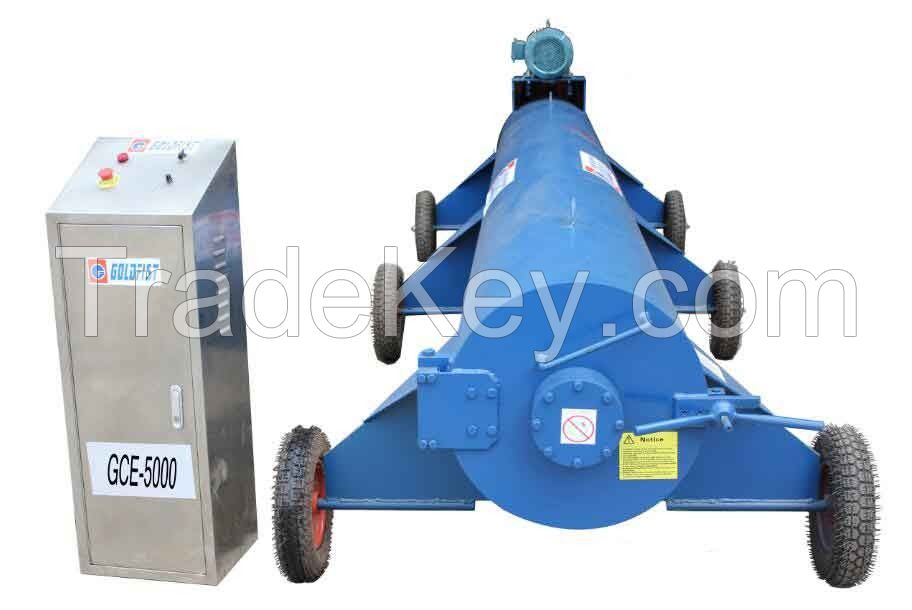 Automatic carpet drying machine rug centrifuge spinner