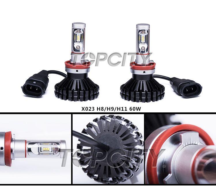 Topcity Factory G10 H4 Hi/Lo 120W LED Headlight High Power Auto Head Lamp