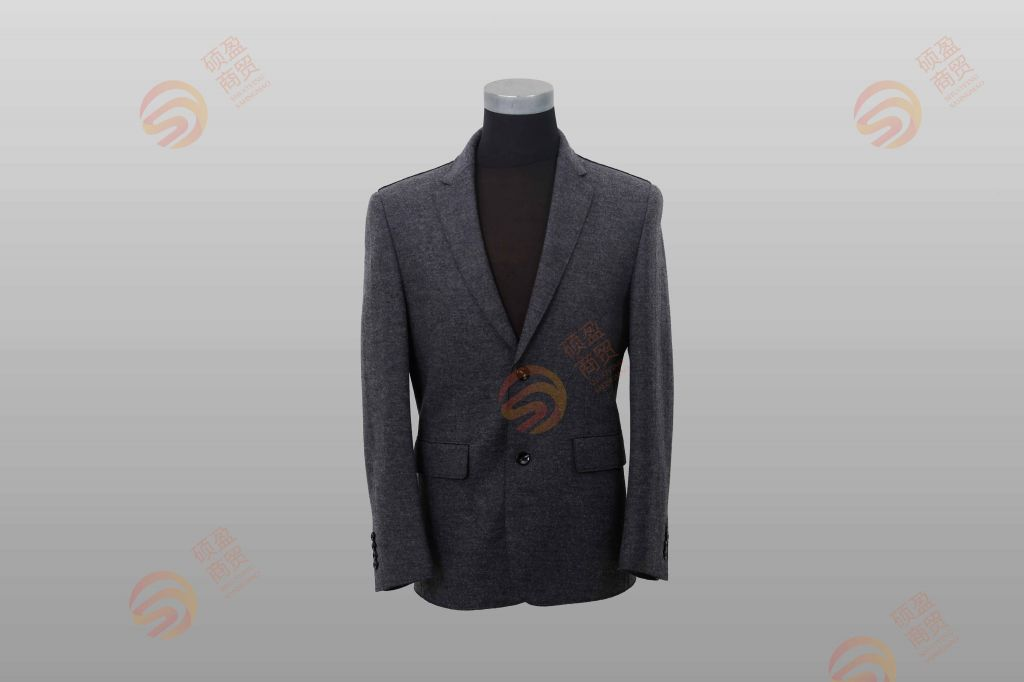 man's woolen suit