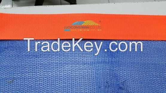 PROCESSING CONSTRUCTION SAFETY NET WITH BORDER SEWING