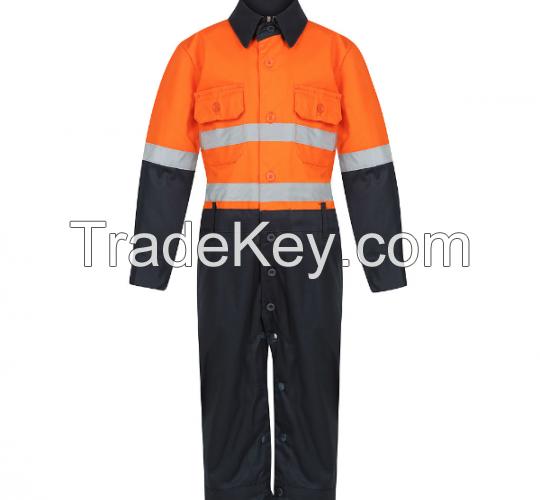 Orange Hi Viz Work Shirt