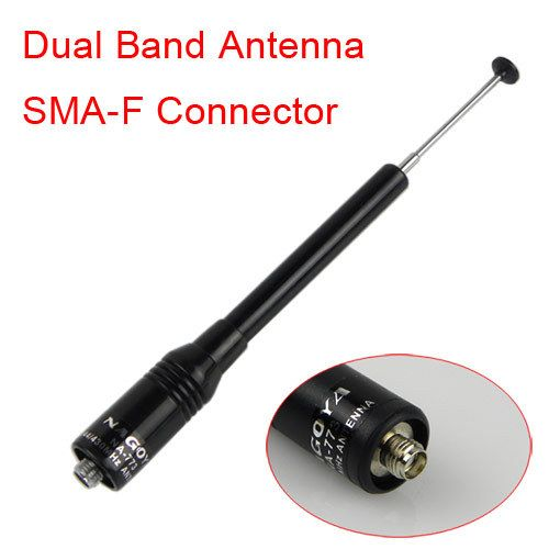 Nagoya NA773 SMA-F Female Dual band Antenna long distance for Kenwood TK 3107 PUXING UV-5R PX-888K TG-UV2 two way radios 10W