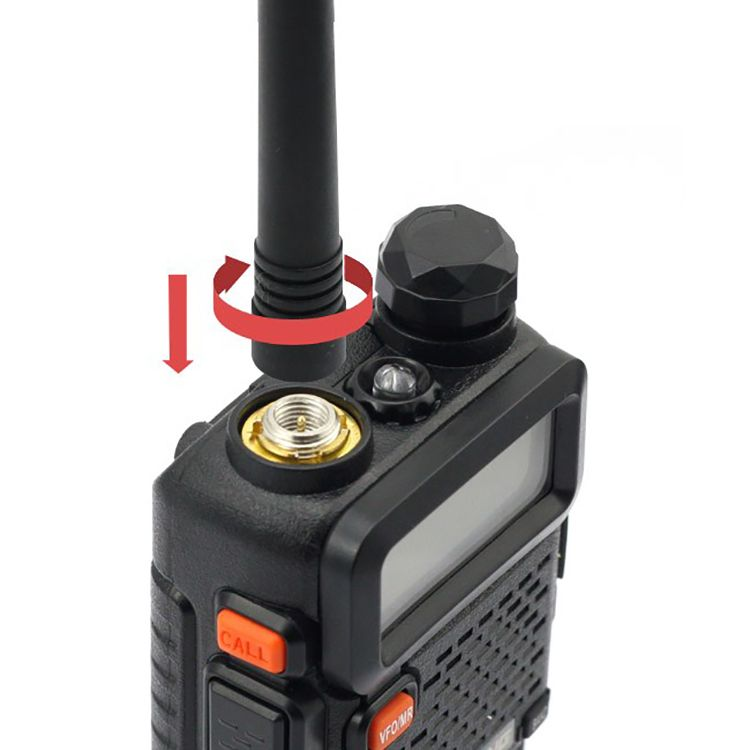 Dual band VOX walkie talkie BAOFENG UV-5R dual display dual standby transceiver 65-108MHz FM radio with 1800mAH battery