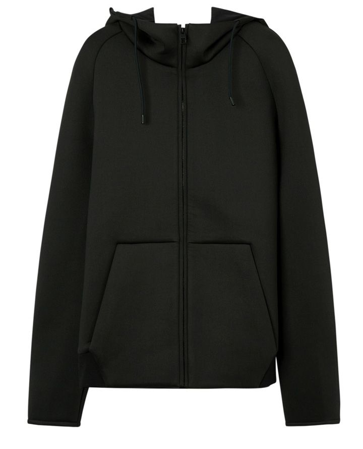 Men\'s Zip hoodie in black Color and Customized