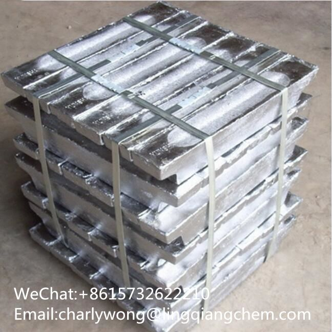 Zinc Ingots 99.9 Zinc Alloy Ingots 99.99 Factory Direct Selling