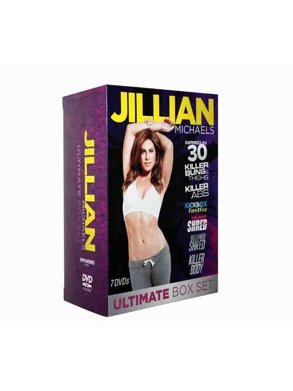 workout dvd JIllian Michaels ULTIMATE BOX SET-7dvd