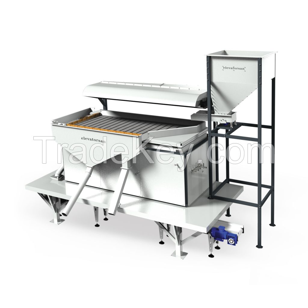 Seed, Grain CLEANING GRADING SEPERATING  Machine and ELEVATOR CONVEYOR