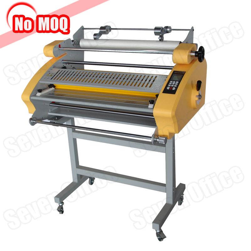 No MOQ electric large format thermal laminator with auto cutting roll laminating machine price
