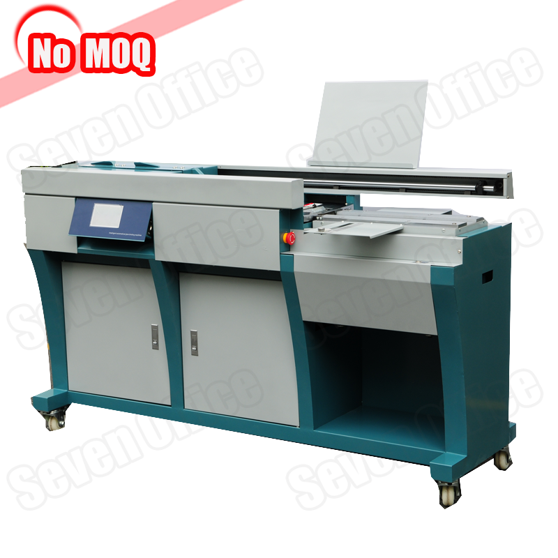 3 years warranty automatic bookbinding machine manufacturer glue binding machine with side glue function