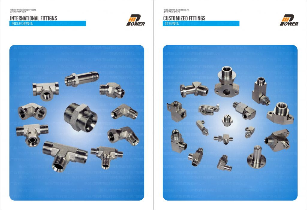 Hydraulic tube fittings and adapters