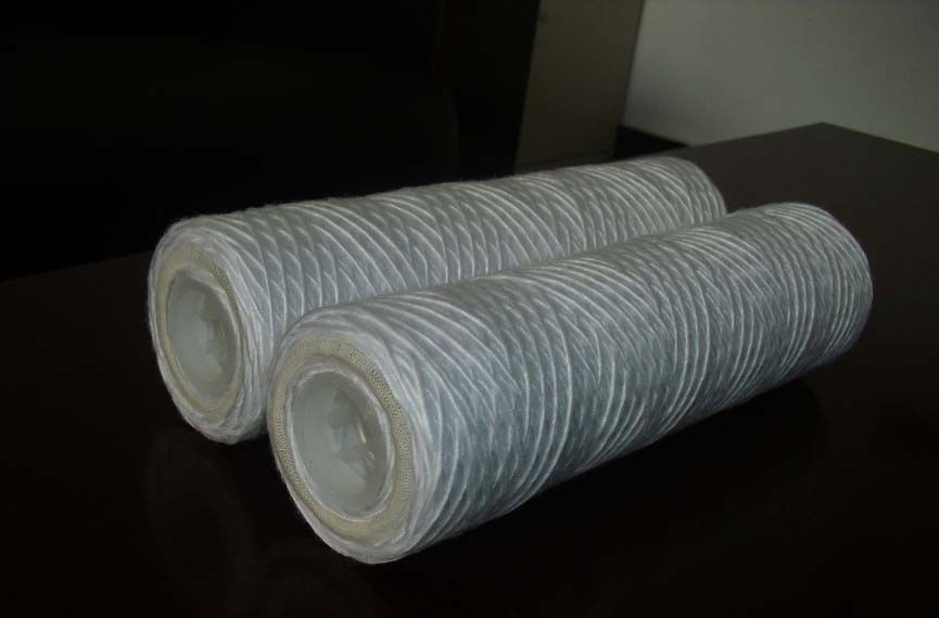 5um PP Yarn String Wound Filter Cartridges with Ss Core or PP Core