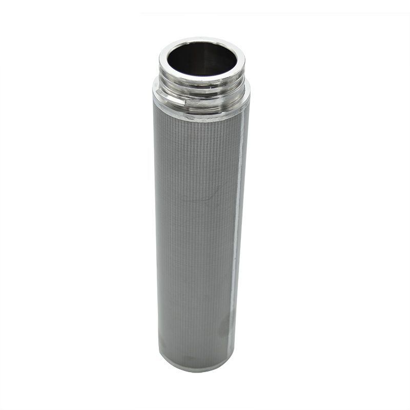 Stain steel Sintered Metal Wire Mesh Filter with high filturation for different size