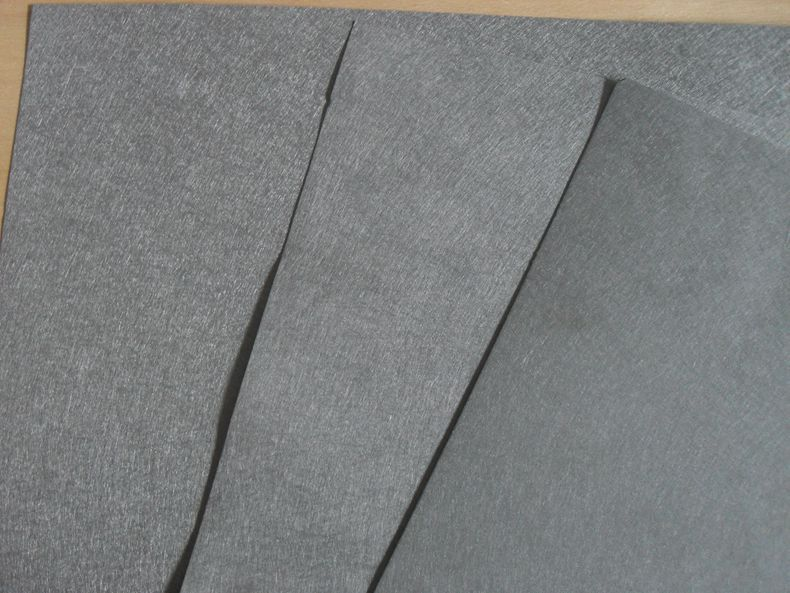 Stainless Steel Sintered Fiber Felt � High Filtration Rate and Permeability sintered felt