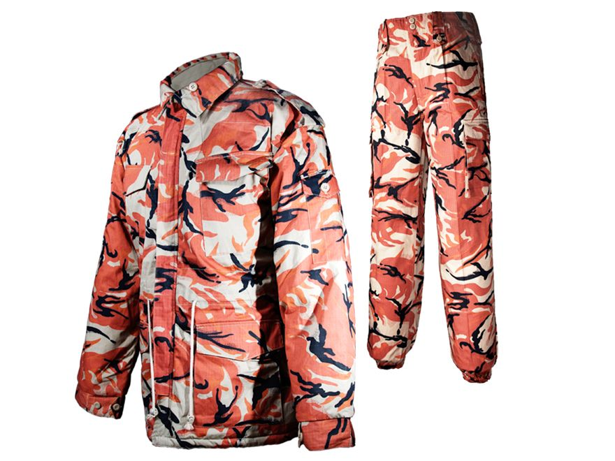 Orange Camo Hunting Jacket Waterproof Jacket