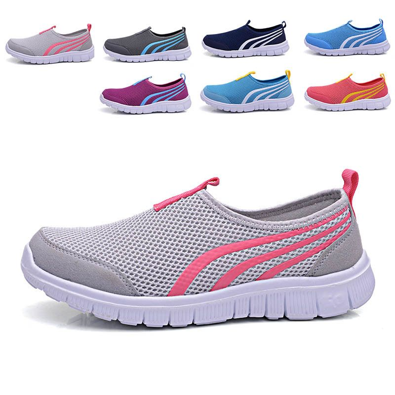 shock absorption and ventilation wear-resisting to prevent the bad smell slip-on shoes women
