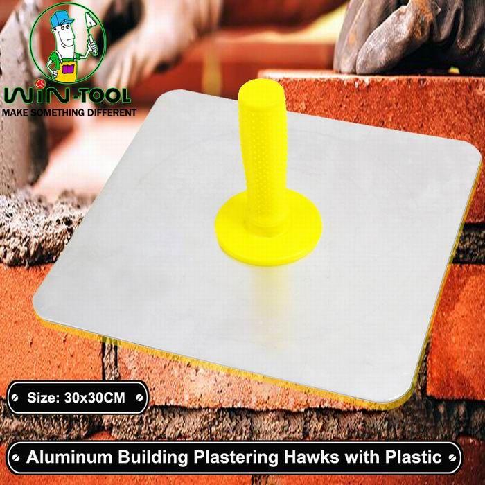 Aluminum Hawk Plaster Trowel