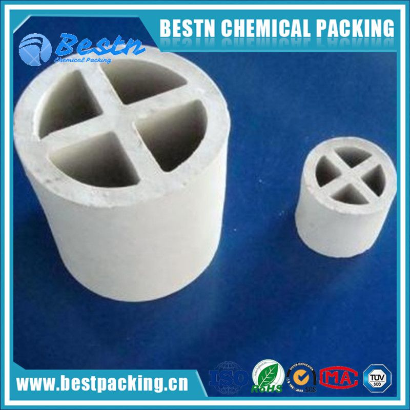 38mm Ceramic Raschig Ring used in Petrochemical Industry