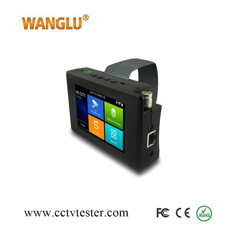 Cheapest 5-in1 IP, Analog, TVI 8MP, CVI 4MP, AHD 5MP wifi touch screen cctv tester