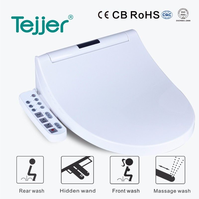 sensor auto flush elder intelligent heated toilet seat cover