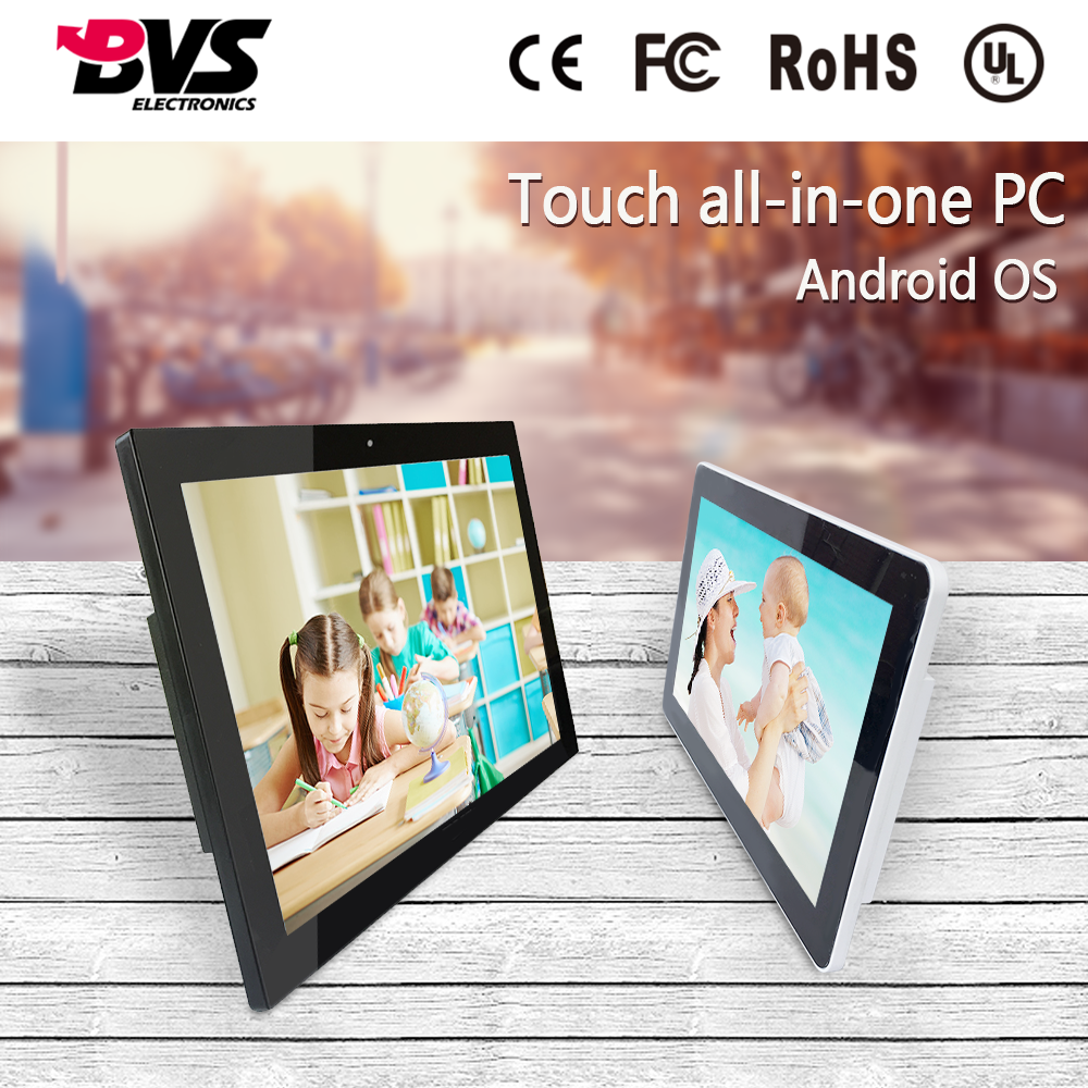 15.6 inch smart capacitive android all in one pc