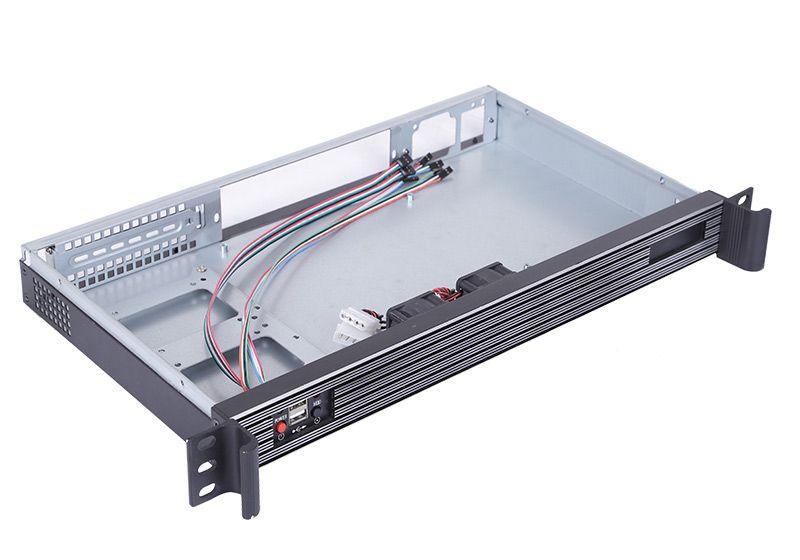 1u mini itx server rack case computer chassis