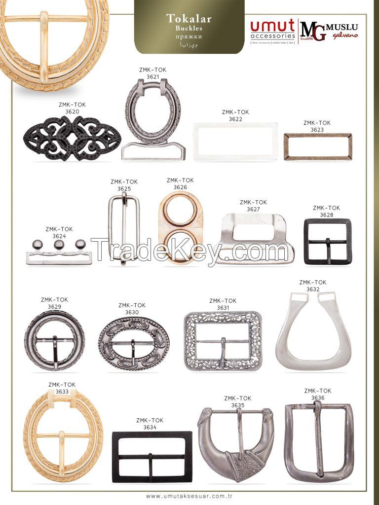 Zinc alloy buckle