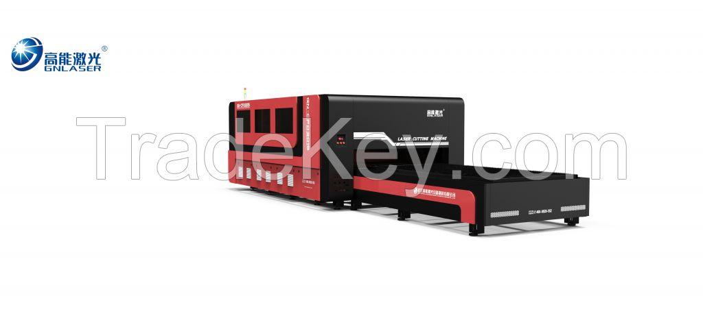 2KW IPG Raycus High Power CNC Steel Sheet Metal Laser Cutting Machine
