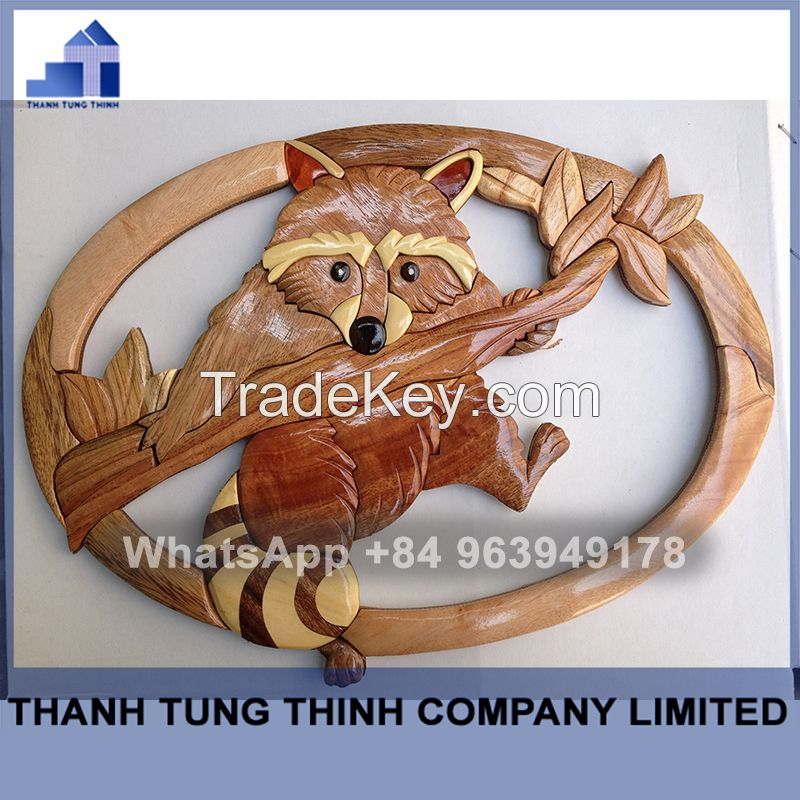 Carving Wooden Intarsia