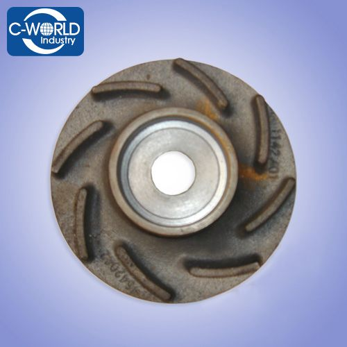 Slurry pumps and pump spare parts impeller, frame liner, throat bush, shaft, volute liner, expeller, end cover, cover plate liner, bearing assembly