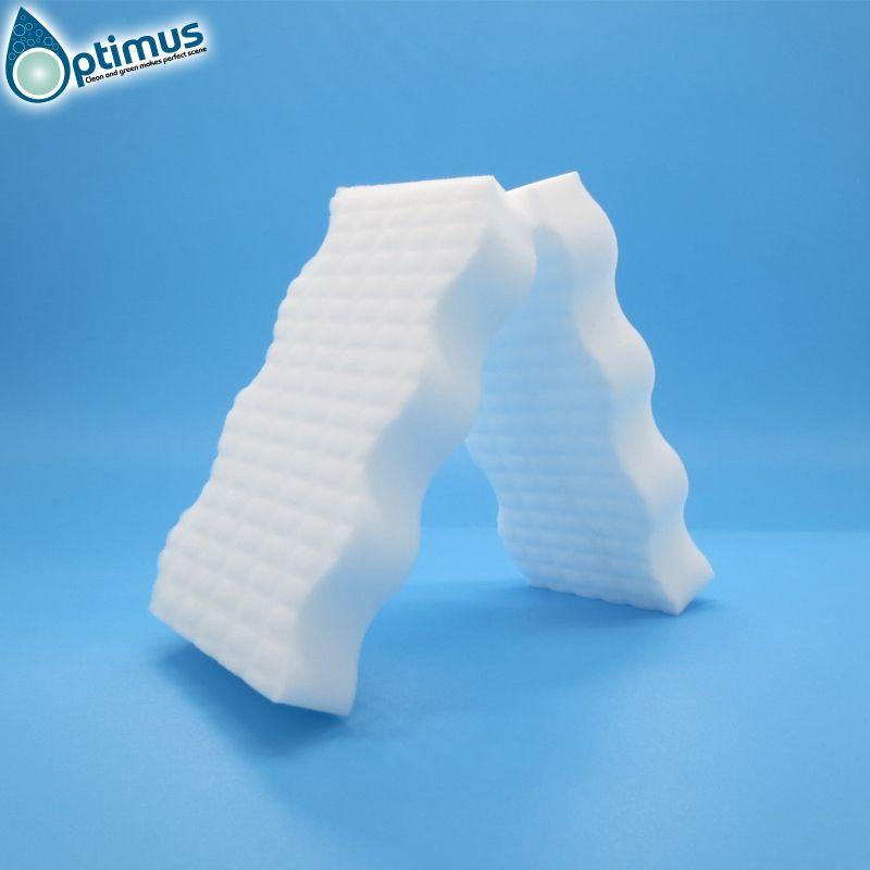 spotting dirty cleaning magic sponge eco friendly special wave shape melamine foam sponge
