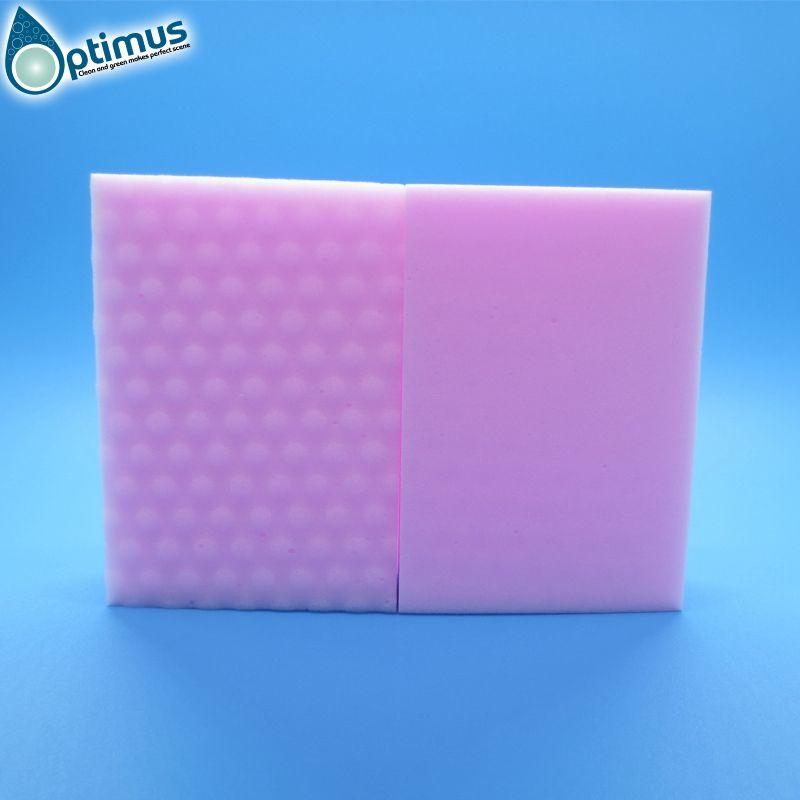 Special color pink red magic sponge high density melamine sponge