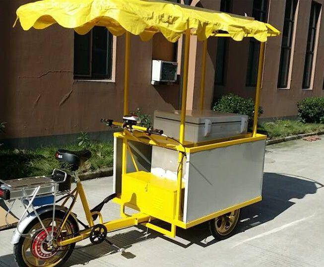 juka solar ice cream tricycle