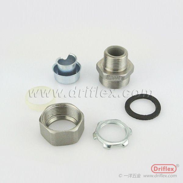 Stainless Steel Straight Liquid-tight Conduit Fittings