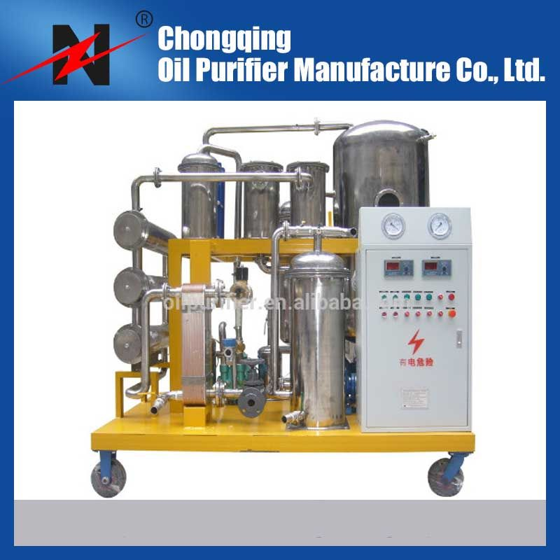 Hot sale waste cooking oil purifier for vegetable oil filtration